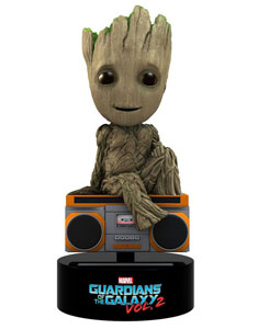 FIGURINE GROOT LES GARDIENS DE LA GALAXIE VOL. 2 BODY KNOCKER BOBBLE