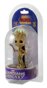 Photo du produit LES GARDIENS DE LA GALAXIE BODY KNOCKER BOBBLE FIGURE DANCING POTTED GROOT 15 CM  Photo 1
