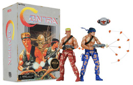 CONTRA PACK 2 FIGURINES BILL & LANCE VIDEO GAME APPEARANCE