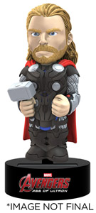 FIGURINE THOR AVENGERS L`ERE D`ULTRON BODY KNOCKER BOBBLE FIGURE