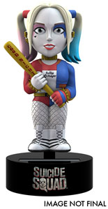 SUICIDE SQUAD BODY KNOCKER BOBBLE FIGURE HARLEY QUINN 15 CM