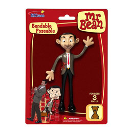 MR. BEAN FIGURINE FLEXIBLE MR. BEAN 14 CM