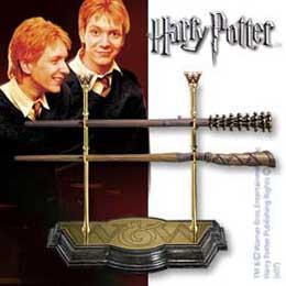 HARRY POTTER SET BAGUETTES MAGIQUES WEASLEY TWINS