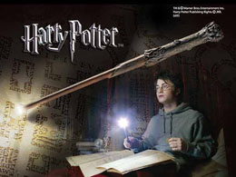 HARRY POTTER BAGUETTE LUMINEUSE DE HARRY POTTER