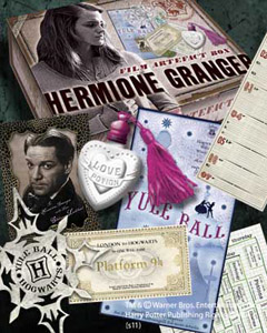 HARRY POTTER BOITE D´ARTEFACTS HERMIONE GRANGER