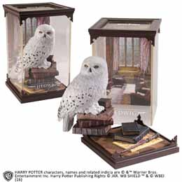 HARRY POTTER STATUETTE MAGICAL CREATURES HEDWIG