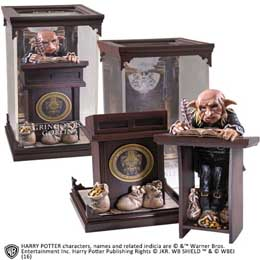 REPLIQUE HARRY POTTER STATUETTE MAGICAL CREATURES GRINGOTTS GOBLIN