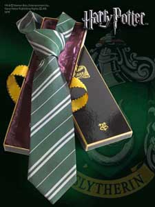 CRAVATE HARRY POTTER SERPENTARD