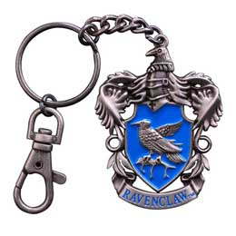 HARRY POTTER PORTE CLE METAL RAVENCLAW