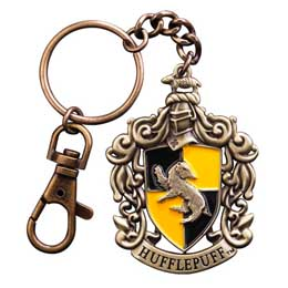 HARRY POTTER PORTE CLE METAL HUFFLEPUFF