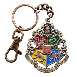 HARRY POTTER PORTE CLE METAL HOGWARTS