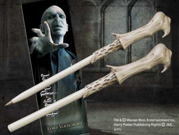 HARRY POTTER SET STYLO A BILLE ET MARQUE-PAGE LORD VOLDEMORT