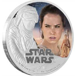 STAR WARS EPISODE VII PIECE D'ARGENT 1 ONCE REY