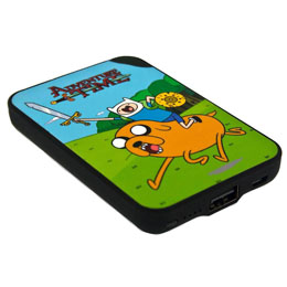 CHARGEUR DE BATTERIE ADVENTURE TIME CREDIT CARD SIZED POWER BANK 5000 MAH FINN & JAKE