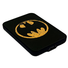 CHARGEUR DE BATTERIE BATMAN CREDIT CARD SIZED POWER BANK 5000 MAH LOGO