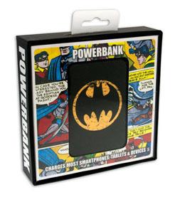 Photo du produit CHARGEUR DE BATTERIE BATMAN CREDIT CARD SIZED POWER BANK 5000 MAH LOGO Photo 1