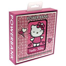 Photo du produit CHARGEUR DE BATTERIE HELLO KITTY CREDIT CARD SIZED POWER BANK 5000 MAH Photo 1