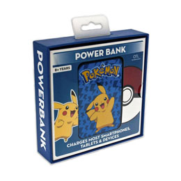 Photo du produit CHARGEUR DE BATTERIE POKEMON CREDIT CARD SIZED POWER BANK 5000 MAH PIKACHU Photo 1