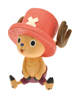ONE PIECE TIRELIRE PVC CHOPPER 17 CM