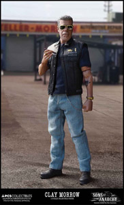 SONS OF ANARCHY FIGURINE 1/6 CLAY MORROW 31 CM
