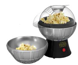 MACHINE A POPCORN STAR WARS DEATH STAR