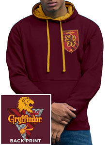HARRY POTTER SWEATER A CAPUCHE HOUSE GRYFFINDOR