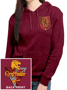 HARRY POTTER SWEATER A CAPUCHE FEMME HOUSE GRYFFINDOR