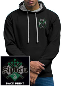 HARRY POTTER SWEATER À CAPUCHE HOUSE SLYTHERIN