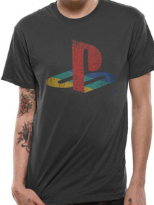 SONY PLAYSTATION T-SHIRT LOGO