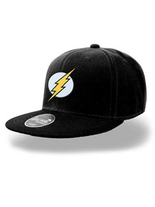 DC COMICS CASQUETTE HIP HOP FLASH LOGO