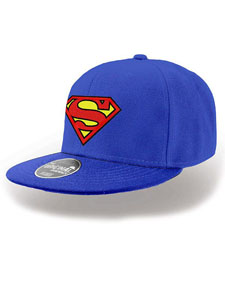 DC COMICS CASQUETTE HIP HOP SUPERMAN LOGO
