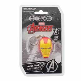 MARVEL COMICS PORTE-CLE LUMINEUX IRON MAN