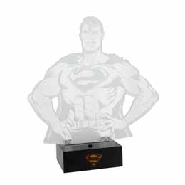 DC COMICS LAMPE LED SUPERMAN