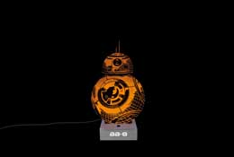 LAMPE STAR WARS EPISODE VII BB-8