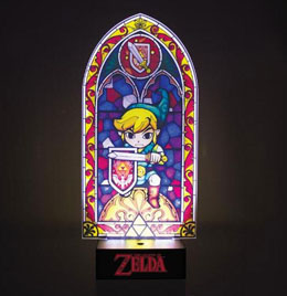 LEGEND OF ZELDA WIND WAKER -  LAMPE LED LINK