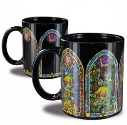 LEGEND OF ZELDA MUG DECOR THERMIQUE LINK