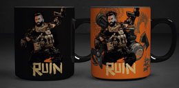 CALL OF DUTY BLACK OPS 4 MUG EFFET THERMIQUE RUIN