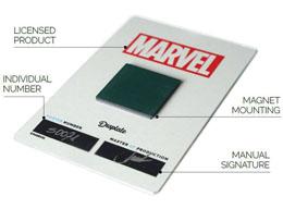 Photo du produit MARVEL COMICS POSTER EN METAL MARVEL DARK EDITION CAPTAIN AMERICA 10 X 14 CM Photo 1