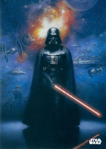 STAR WARS POSTER EN MÉTAL STAR WARS EPICS POWER OF THE EMPIRE 10 X 14 CM