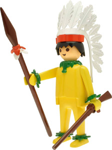 Playmobil figurine Nostalgia Collection Chef Indien 25 cm
