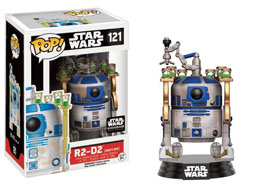FUNKO POP STAR WARS R2-D2 JABBA'S SKIFF EXCLUSIVE