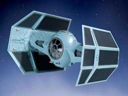 Photo du produit MAQUETTE STAR WARS EASYKIT 1/57 DARTH VADER´S TIE FIGHTER