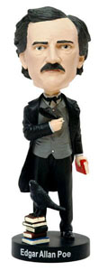 FIGURINE EDGAR ALLAN POE BOBBLE HEAD 20 CM