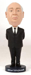 FIGURINE ALFRED HITCHCOCK BOBBLE HEAD 20 CM