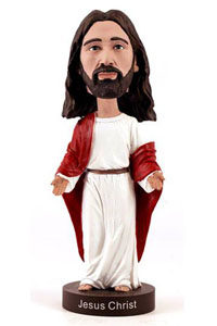 FIGURINE JESUS CHRIST BOBBLE HEAD VERSION 2 20 CM