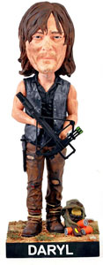 FIGURINE ROYAL BOBBLES WALKING DEAD BOBBLE HEAD DARYL 20 CM