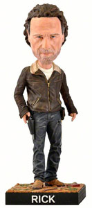 FIGURINE ROYAL BOBBLES WALKING DEAD BOBBLE HEAD RICK 20 CM