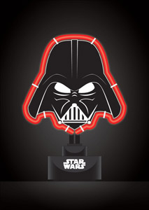 STAR WARS LAMPE NEON DARK VADOR