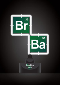BREAKING BAD LAMPE NEON LOGO