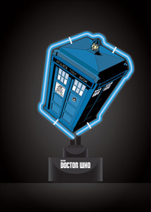 DOCTOR WHO LAMPE NEON TARDIS